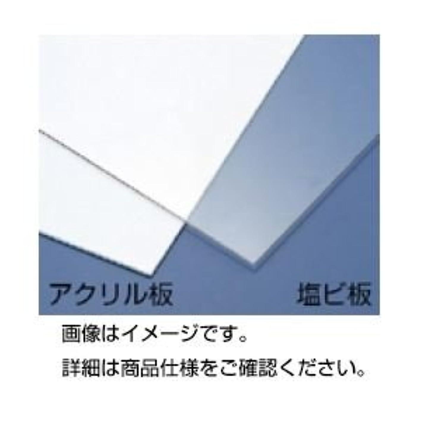協会外向きローン(まとめ)塩ビ板 透明 50×45cm 2mmt【×5セット】
