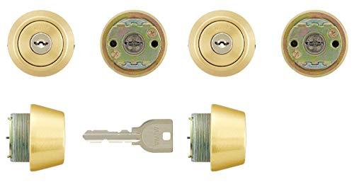 美和ロック 交換用U9シリンダー LSP+LSP 2個同一