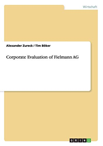 Corporate Evaluation of Fielmann AG