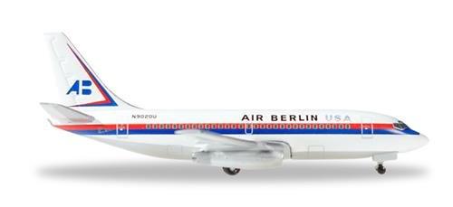 "Herpa 530453\"" Air Berlin USA Boeing 737-200-N9020U Miniaturfahrzeug"