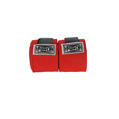 Bandagem Elástica 50 Mm - 3,00 Mts Punch Unissex 3,00 Compr. X 0,05 Largura Vermelha
