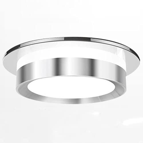 VanFty Borde negro borde borde plata borde blanco borde downlight 7.5 agujero led linterna linterna negro incrustado negro marco neto techo neto rojo lampara. Una variedad de estilos para elegir