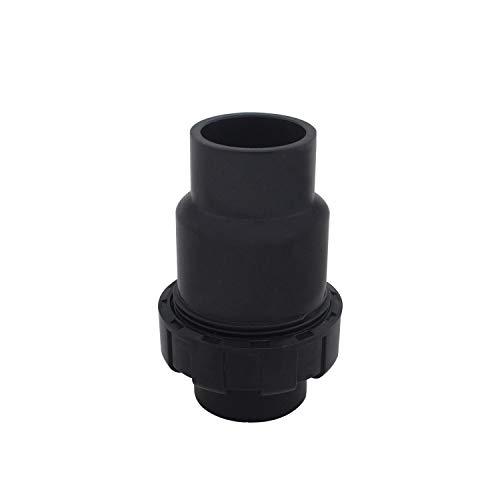 Clapet anti retour a bille 20 25 32 40 50 63 75 90 110mm clapet anti retour eau pvc soupape clapet anti refoulement vanne piscine (Diamètre Intérieur 32mm)