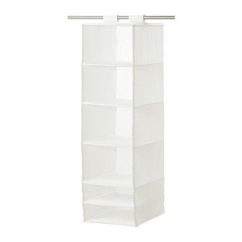 IKEA SKUBB förvaring i vit; 6 fack