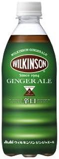 アサヒ飲料 ウィルキンソン ジンジャエール 500mlペットボトル×24本入