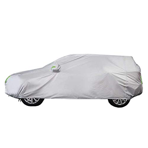 Zfggd Car Cover All Weather Protection - Full Automobile Cover For Encore SUV Model - Heavy Duty Fully Waterproof Breathable Cotton Lined Outdoor Indoor Protector Covers - Silver (Size : 2018)