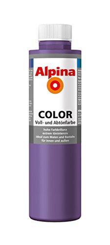 Alpina Farben Voll und Abtönfarbe Wandfarbe Alpina Color Farbton Sweet Violet 750 ml