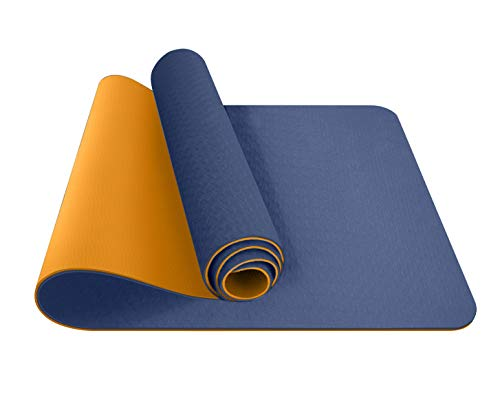 ComFyMat Yoga Mat – Non-Slip Gym Mat, Workout Mat for Pilates, Meditation, Women, Men, Fitness...