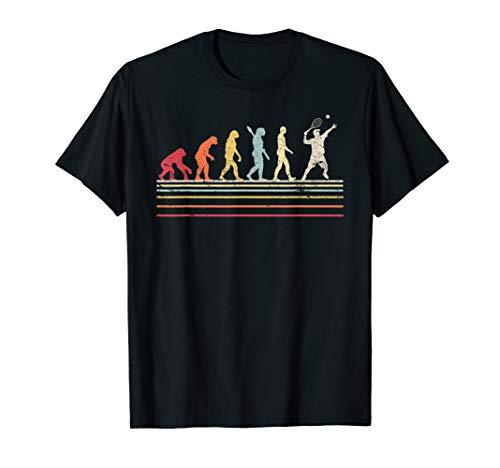 Funny Tennis Shirt. Retro Style T-Shirt