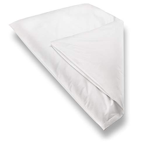 Blumtal 2er Set Milbenbezug Allergiker Bettbezug - Milben Encasing Allergiker Bettwäsche, 100x135 cm