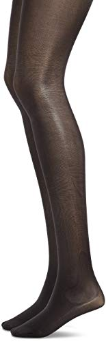 DIAM'S Jambes fuselées opaque -lot de 2- taille 2- noir