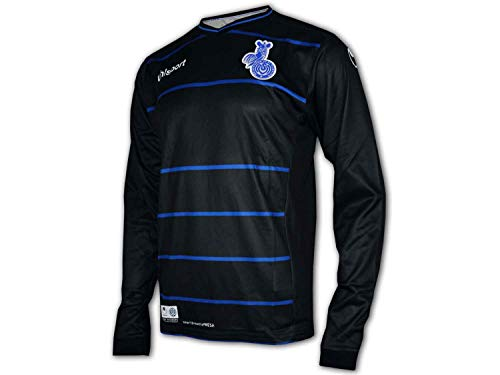 uhlsport MSV Duisburg 3rd Jersey 16/17 schwarz Zebras MSV Heim Trikot Fan Shirt, Größe:S
