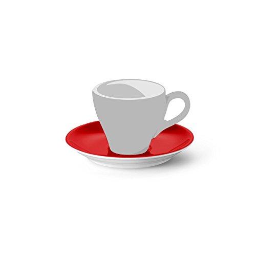 Dibbern Sc Espresso Untertasse Classico Signalrot