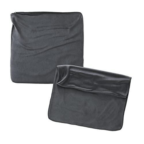 Cojines Sofa 60x60 Color Antracita Pack de 2 Fundas de cojin Decorativos para Sofa , Cama , Salon / Funda de Terciopelo Elegantes y Modernas para la decoración del hogar sin Relleno
