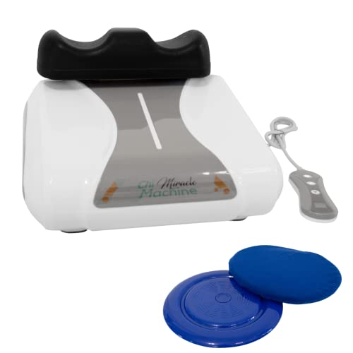 Original Chi Miracle Machine, Electric Back Massager, Supports Weight Loss, Reduces Swollen Ankles, Promotes Lymphatic Drainage, Increases Flexibility, Optimize Your Vitality and Athletic Performance