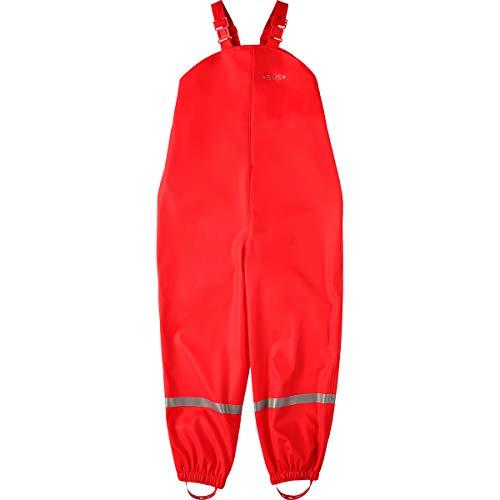 BMS BMS Regenhose Buddelhose Matschhose für Mädchen in Rot Größe 98
