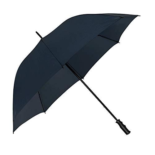 VON LILIENFELD® Paraguas Golf Grande XXL 2 Personas Mujer Hombres Robusto Julian Azul Oscuro