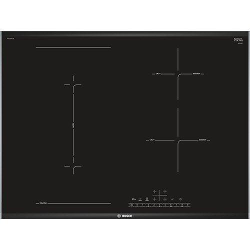 Bosch PVS775FC1E piano cottura Nero, Acciaio inossidabile Incasso A induzione