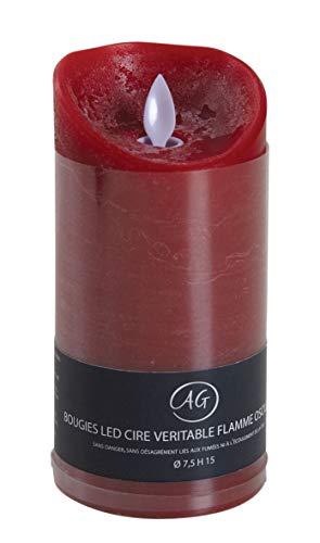 AUBRY GASPARD Grande Bougie à LED parfumée Fruits Rouges Grand modèle