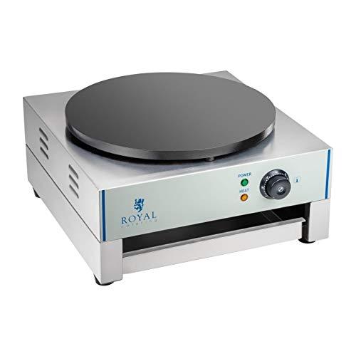 Royal Catering - RCEC-3000-E - Crepiera elettrica - diametro 40 cm
