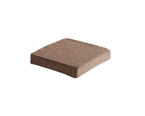Yuly - Cuscino imbottito con imbottitura in memory foam ad alta elasticità, cuscino per sedia staccabile e antiscivolo, morbido cuscino per sedie da pranzo/divano/poltrona.