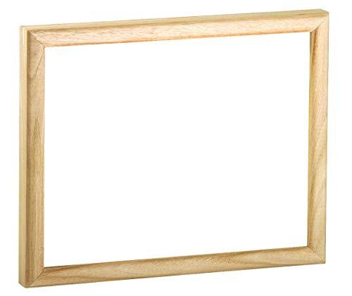 VBS Holzbilderrahmen für Keilrahmen 30 x 40 cm