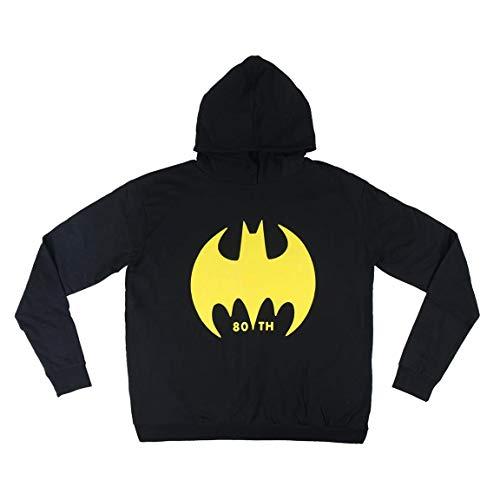 Artesania Męska bluza z kapturem Sudadera Batman, czarna (Negro C02), rozmiar XXL