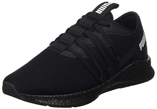 PUMA Unisex-Erwachsene NRGY Star New Core Straßen-Laufschuh, Black Black, 45 EU