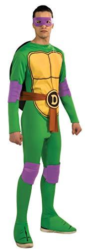 Nickelodeon Ninja Turtles Adult Donatello and Accessories, Green, x-large Costume