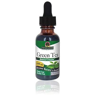 Nature's Answer Alcohol-Free Green Tea Leaf, 1-Fluid Ounce