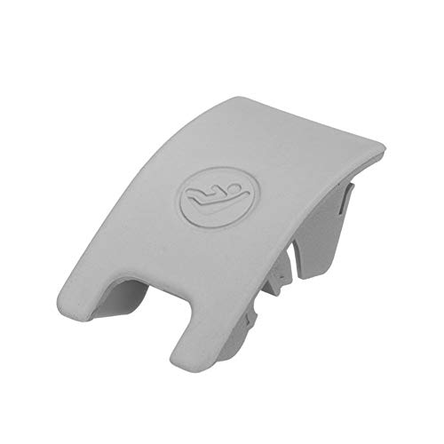 SSGLOVELIN Schwarz/Grau Auto hinten Kindersitz Sicherheit Anker Isofix Slot Trim-Abdeckung for Audi A4 B8 A5 8T0887187 Auto ISOFIX Abdeckung Kind Restraint (Color Name : Gray)