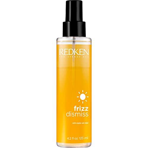 Redken Frizz Dismiss Anti-Static Oil Mist ,Olio professionale per controllo capelli crespi - 125 ml