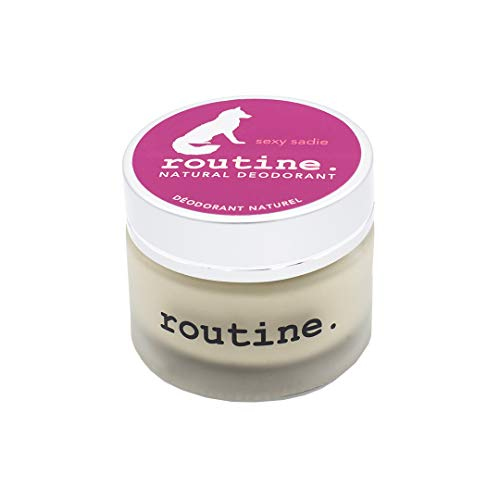 Routine Natural Deodorant - Sexy Sadie (vegan: no beeswax) - 58g