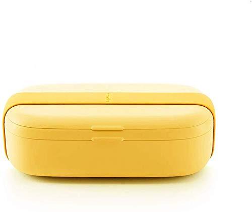DLMSDG Box Mini Caja de Almuerzo sellada y crujiente Simple, Recipiente de plástico Reutilizable para Almacenamiento de Alimentos con Tapa, Caja de Almacenamiento de Cocina para al