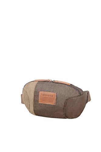 Samsonite Rewind Natural - Belt Bag 0.2 KG Messenger Bag, 24 cm, 2.5 liters, Grey (Rock)