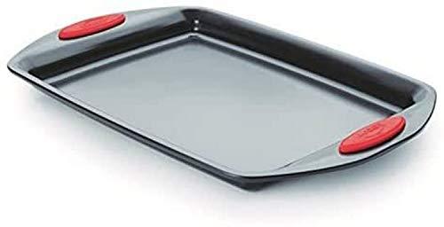 LACOR rectangul Moule, Acier, Noir, 42 x 25 x 3 cm