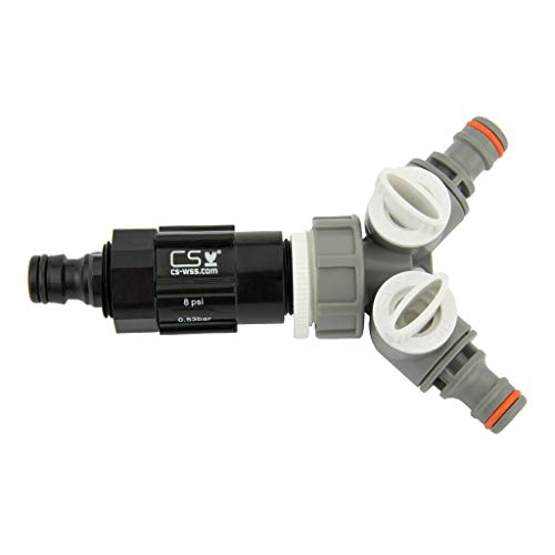 CS Druckregulator 8 psi Z20-2 GA-BL - 2-Wege-ABH-WL