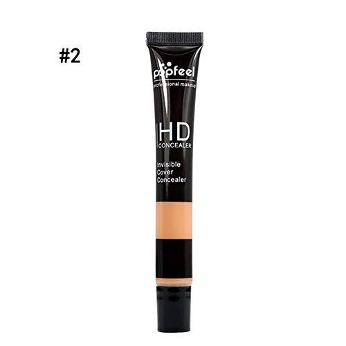 1PC HD Correcteur de Teinture Perfection Durable Correcteur d'Utilisation Ultime pour Maquillage de Base Correcteur Multi-Usage (2 Brown)