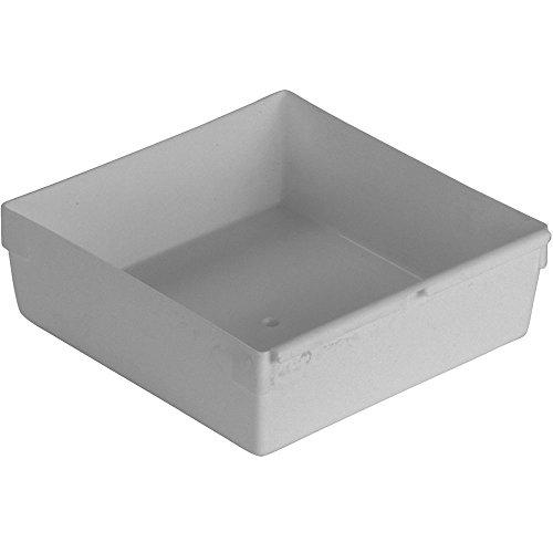 CURVER | Casier de rangement 15x15cm, Argent, Storage Others, 15x15x5 cm