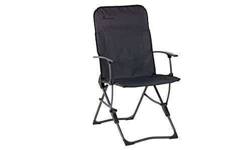 Isabella campingstoel Balder antraciet