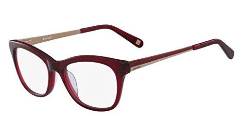Eyeglasses NINE WEST NW 8005 602 Crystal Burgundy