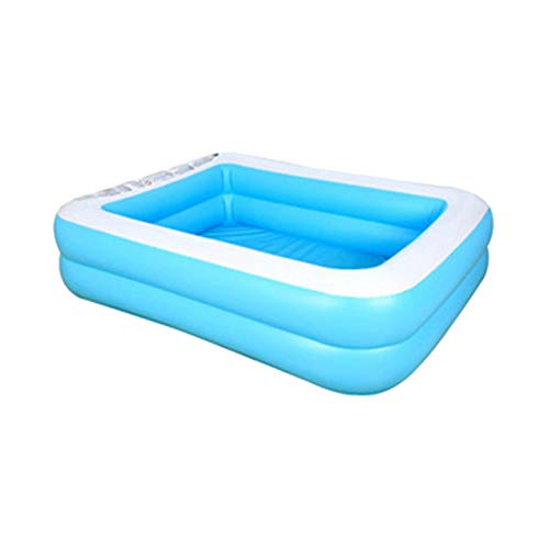 Jarome Piscina Inflable Piscina Rectangular para niños niños pequeños bebés Adultos jardín Patio Trasero al Aire Libre Fiesta de Verano en el Agua Centro de natación para Mayores de 3 años masterly