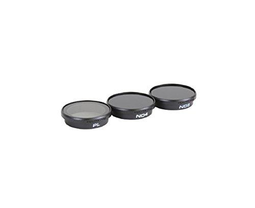 PolarPro - Circular Polarizer and Neutral Density Lens Filters for DJI Phantom 3 and Phantom 4 (3-Count)