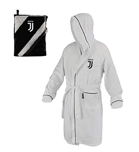 Hermet FC Juventus badjas voor meisjes, 12/14 jaar