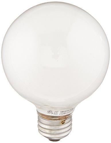 GE Lighting 12979 Soft White 40-Watt, 370-Lumen G25 Light Bulb with Medium Base, 1-Pack