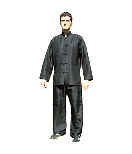 DanLong Tai Chi Anzug aus Reiner Seide (L)