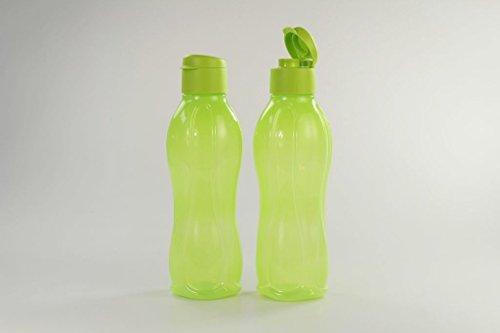 TUPPERWARE To Go Eco 1 L limoen (2) drinkfles eco-fles eco Easy 16909