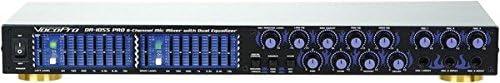 VocoPro DA-1055 Max 76% OFF Pro Professional 6 Manufacturer OFFicial shop Digital MIC. Echo Mixer Param