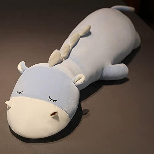KXCAQ 80 cm-120 cm Lindo Animal Largo Novio Almohada Juguetes de Peluche Oficina Siesta Almohada cojín Regalo muñeca para Presente 120 cm 1