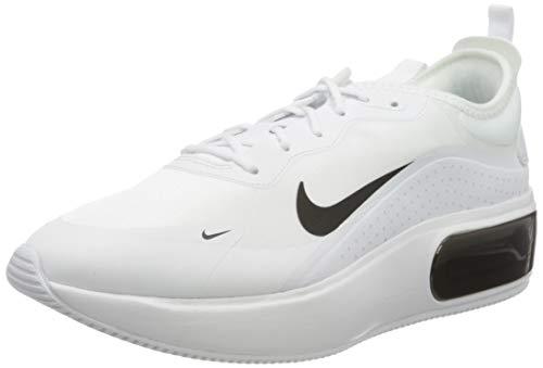 Nike W Air Max Dia, Scarpa da Corsa Donna, Bianco/Nero, 41 EU